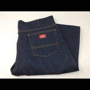 Men's DICKIES Dark Blue Denim Jeans Sz. 36x36